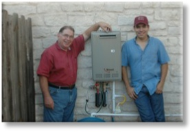 Recent Installation Tankless Water Heater